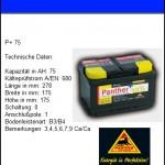 Batterie75